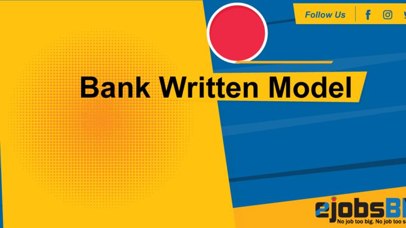 Bank Written Model