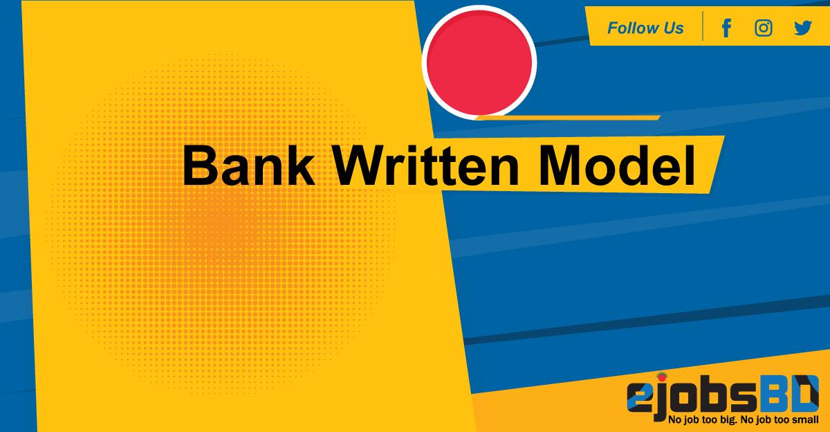 Bank-Written-Model